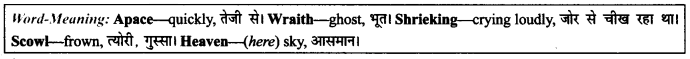 NCERT Solutions for Class 9 English Literature Chapter 9 Lord Ullins Daughter Paraphrase Q7