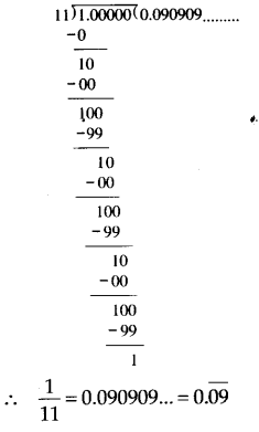 NCERT Solutions for Class 9 Maths Chapter 1 Number Systems Ex 1.3 Q1.1