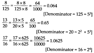 NCERT Solutions for Class 9 Maths Chapter 1 Number Systems Ex 1.3 Q6.1