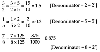 NCERT Solutions for Class 9 Maths Chapter 1 Number Systems Ex 1.3 Q6