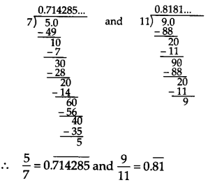 NCERT Solutions for Class 9 Maths Chapter 1 Number Systems Ex 1.3 Q8