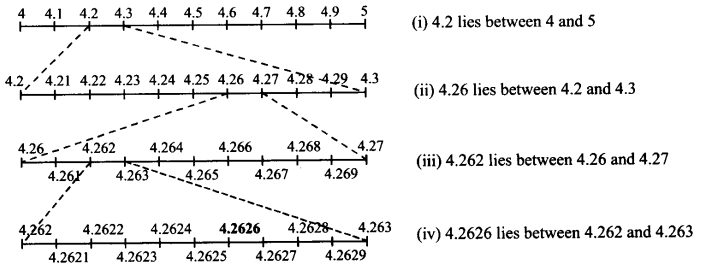 NCERT Solutions for Class 9 Maths Chapter 1 Number Systems Ex 1.4 Q2