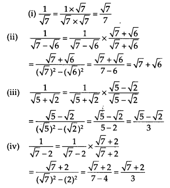 NCERT Solutions for Class 9 Maths Chapter 1 Number Systems Ex 1.5 Q5.1