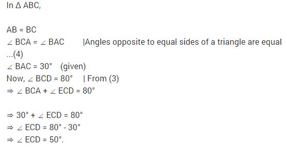 NCERT Solutions for Class 9 Maths Chapter 10 Circles Ex 10.5 A6.1