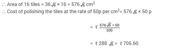 NCERT Solutions for Class 9 Maths Chapter 12 Heron's Formula Ex 12.2 A8.1