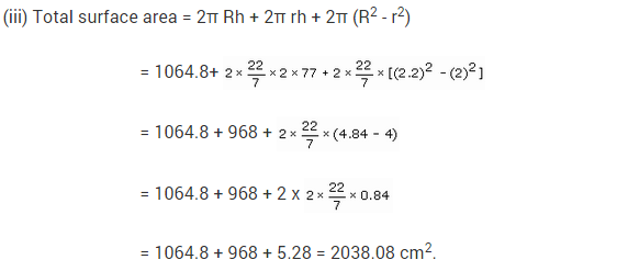 NCERT Solutions for Class 9 Maths Chapter 13 Surface Areas and Volumes Ex 13.2 A3.1