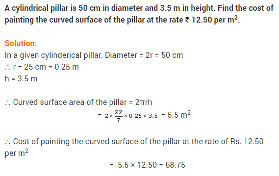 NCERT Solutions for Class 9 Maths Chapter 13 Surface Areas and Volumes Ex 13.2 A5