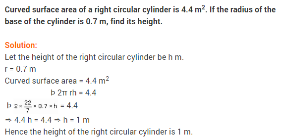 NCERT Solutions for Class 9 Maths Chapter 13 Surface Areas and Volumes Ex 13.2 A6