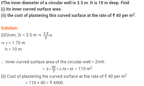 NCERT Solutions for Class 9 Maths Chapter 13 Surface Areas and Volumes Ex 13.2 A7