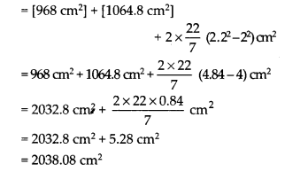 NCERT Solutions for Class 9 Maths Chapter 13 Surface Areas and Volumes Ex 13.2 Q3.2