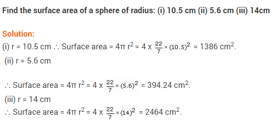 NCERT Solutions for Class 9 Maths Chapter 13 Surface Areas and Volumes Ex 13.4 A1