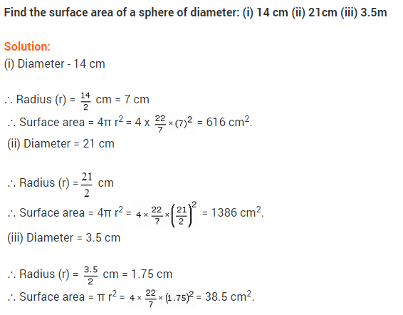 NCERT Solutions for Class 9 Maths Chapter 13 Surface Areas and Volumes Ex 13.4 A2