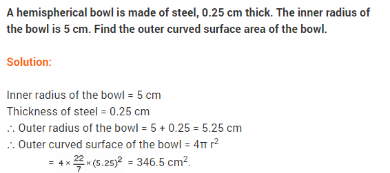 NCERT Solutions for Class 9 Maths Chapter 13 Surface Areas and Volumes Ex 13.4 A8