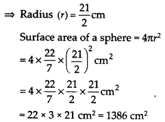 NCERT Solutions for Class 9 Maths Chapter 13 Surface Areas and Volumes Ex 13.4 Q2.1