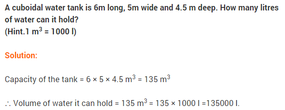NCERT Solutions for Class 9 Maths Chapter 13 Surface Areas and Volumes Ex 13.5 A2