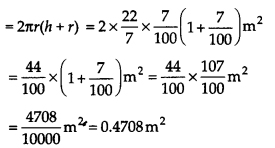 NCERT Solutions for Class 9 Maths Chapter 13 Surface Areas and Volumes Ex 13.6 Q6.2