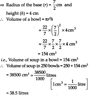 NCERT Solutions for Class 9 Maths Chapter 13 Surface Areas and Volumes Ex 13.6 Q8