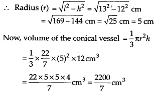 NCERT Solutions for Class 9 Maths Chapter 13 Surface Areas and Volumes Ex 13.7 Q2.1