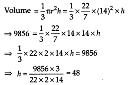 NCERT Solutions for Class 9 Maths Chapter 13 Surface Areas and Volumes Ex 13.7 Q6