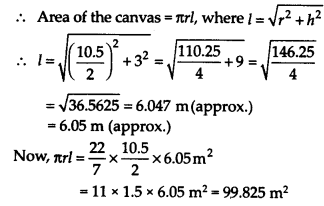 NCERT Solutions for Class 9 Maths Chapter 13 Surface Areas and Volumes Ex 13.7 Q9.1