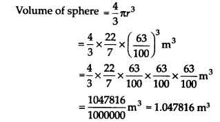 NCERT Solutions for Class 9 Maths Chapter 13 Surface Areas and Volumes Ex 13.8 Q1.1