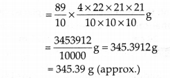 NCERT Solutions for Class 9 Maths Chapter 13 Surface Areas and Volumes Ex 13.8 Q3.1