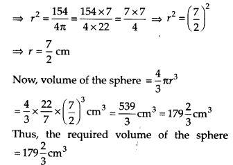 NCERT Solutions for Class 9 Maths Chapter 13 Surface Areas and Volumes Ex 13.8 Q7