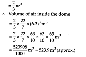 NCERT Solutions for Class 9 Maths Chapter 13 Surface Areas and Volumes Ex 13.8 Q8.1