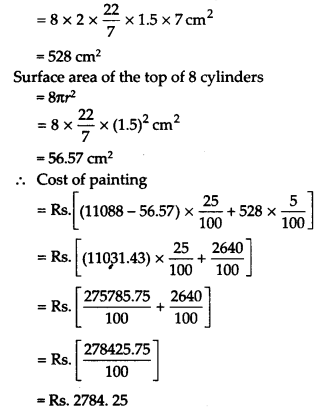 NCERT Solutions for Class 9 Maths Chapter 13 Surface Areas and Volumes Ex 13.9 Q2.1