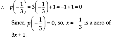 NCERT Solutions for Class 9 Maths Chapter 2 Polynomials Ex 2.2 Q3