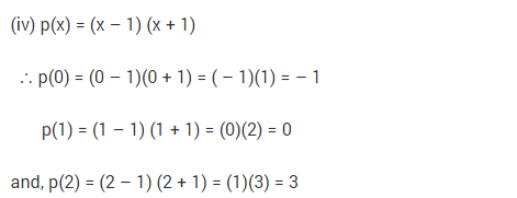 NCERT Solutions for Class 9 Maths Chapter 2 Polynomials Ex 2.2 Q7.1