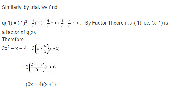 NCERT Solutions for Class 9 Maths Chapter 2 Polynomials Ex 2.4 Q16.5