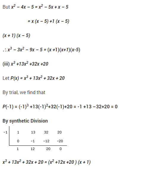 NCERT Solutions for Class 9 Maths Chapter 2 Polynomials Ex 2.4 Q17.1