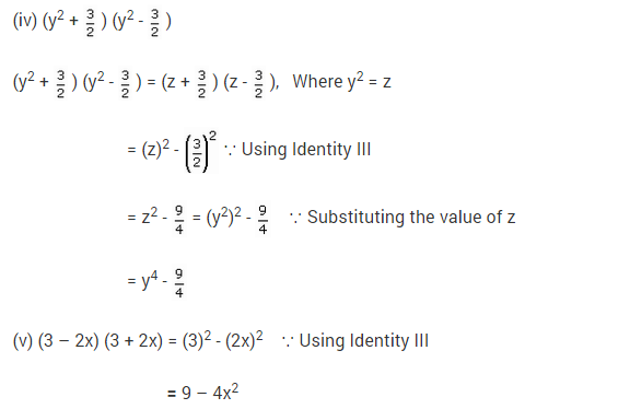 NCERT Solutions for Class 9 Maths Chapter 2 Polynomials Ex 2.5 q1.1
