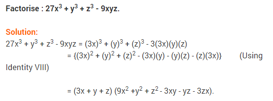 NCERT Solutions for Class 9 Maths Chapter 2 Polynomials Ex 2.5 q11