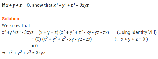 NCERT Solutions for Class 9 Maths Chapter 2 Polynomials Ex 2.5 q13