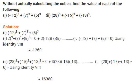 NCERT Solutions for Class 9 Maths Chapter 2 Polynomials Ex 2.5 q14
