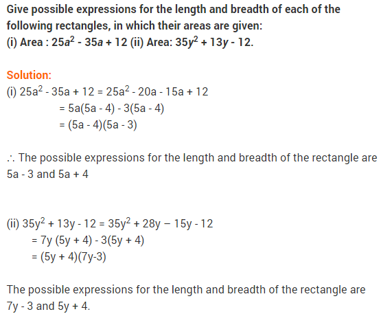 NCERT Solutions for Class 9 Maths Chapter 2 Polynomials Ex 2.5 q15