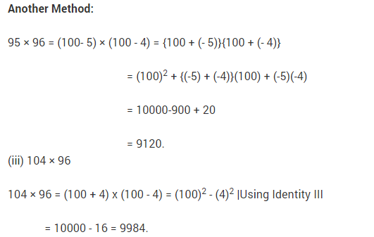 NCERT Solutions for Class 9 Maths Chapter 2 Polynomials Ex 2.5 q2.1