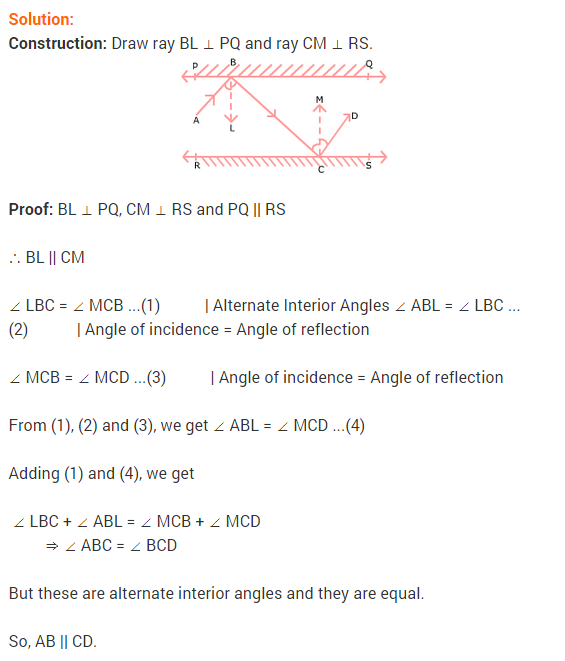 NCERT Solutions for Class 9 Maths Chapter 6 Lines and Angles Ex 6.2 Q12.1