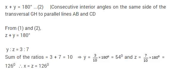 NCERT Solutions for Class 9 Maths Chapter 6 Lines and Angles Ex 6.2 Q8.1
