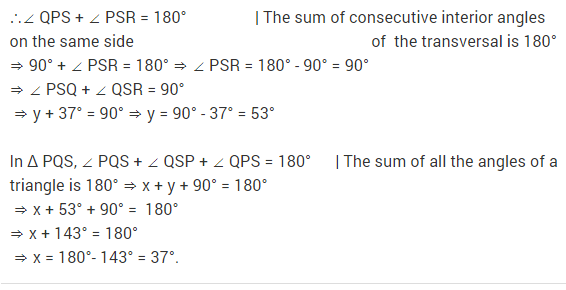 NCERT Solutions for Class 9 Maths Chapter 6 Lines and Angles Ex 6.3 Q17.1