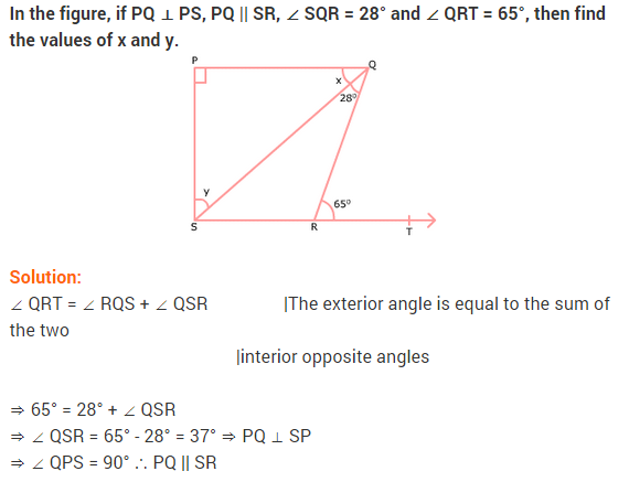 NCERT Solutions for Class 9 Maths Chapter 6 Lines and Angles Ex 6.3 Q17