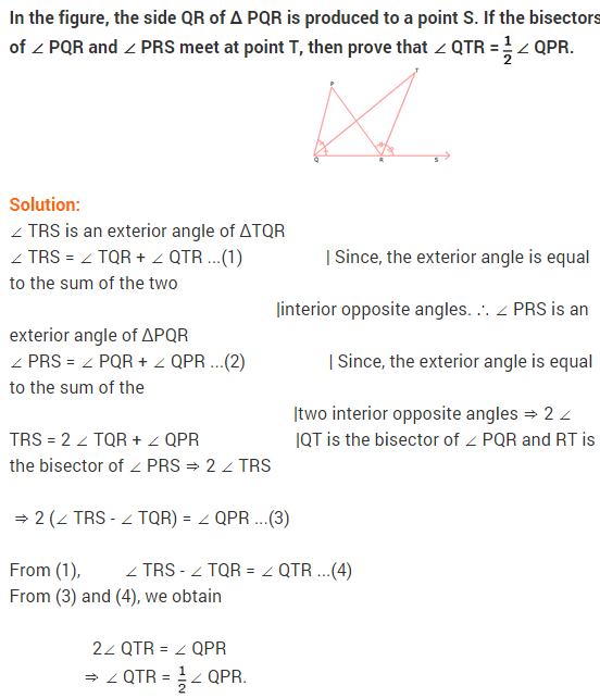 NCERT Solutions for Class 9 Maths Chapter 6 Lines and Angles Ex 6.3 Q18