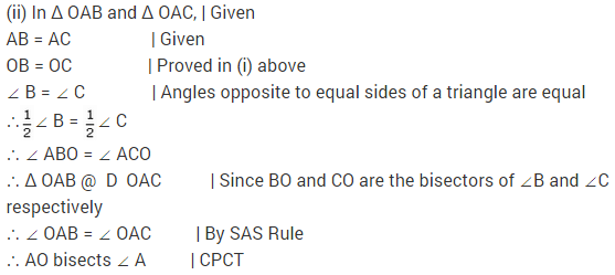 NCERT Solutions for Class 9 Maths Chapter 7 Triangles Ex 7.2 q1.1