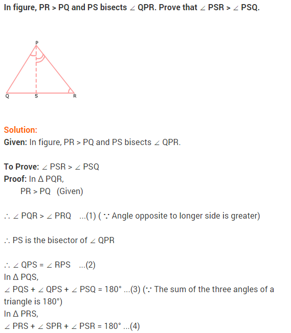 NCERT Solutions for Class 9 Maths Chapter 7 Triangles Ex 7.4 q5