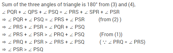 NCERT Solutions for Class 9 Maths Chapter 7 Triangles Ex 7.4 q5.1