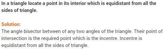 NCERT Solutions for Class 9 Maths Chapter 7 Triangles Ex 7.4 q8