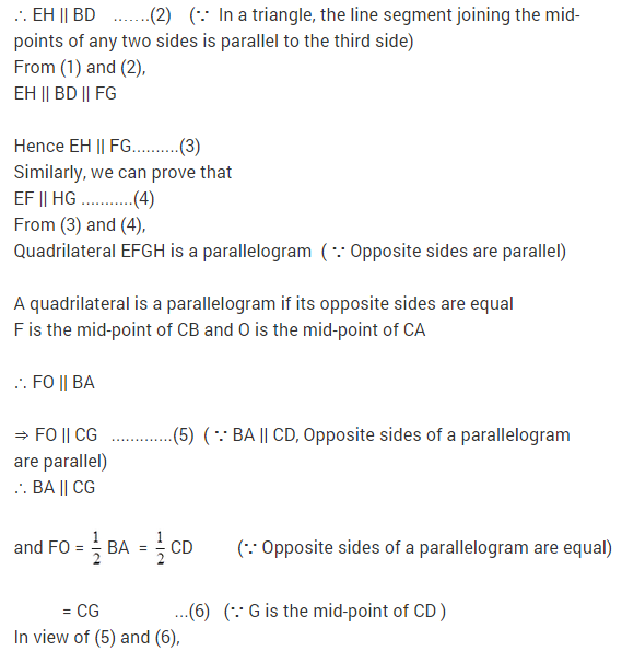 NCERT Solutions for Class 9 Maths Chapter 9 Areas of Parallelograms and Triangles Ex 9.2 A2.1