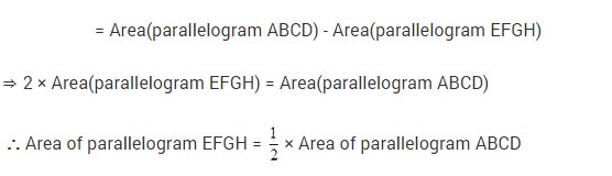 NCERT Solutions for Class 9 Maths Chapter 9 Areas of Parallelograms and Triangles Ex 9.2 A2.3